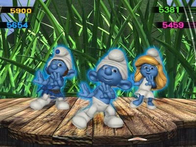 Анонс The Smurfs Dance Party