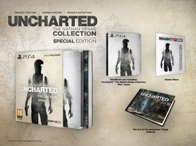 Анонс Uncharted: The Nathan Drake Collection