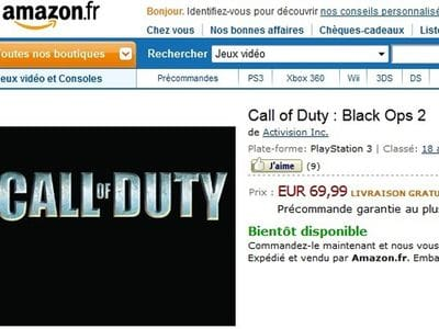 Слух: Call of Duty: Black Ops 2