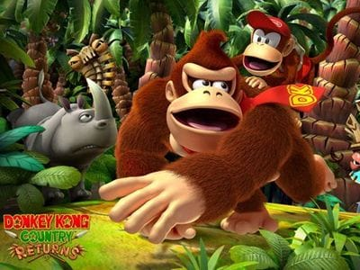 Продолжение Donkey Kong Country Returns не планируется