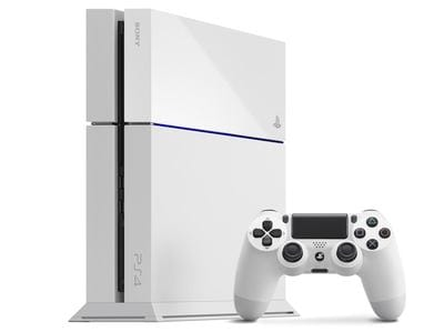 Белая PlayStation 4