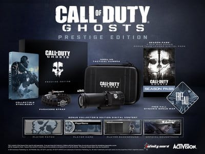 Издание Call of Duty: Ghosts Prestige Edition