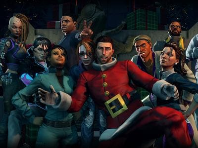 Дополнение How the Saints Save Christmas для Saints Row 4