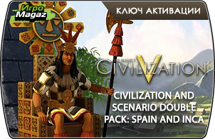 Sid Meier's Civilization V – Civilization & Scenario Double Pack Spain and Inca