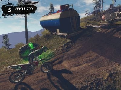 Игра Trials Evolution без Kinect