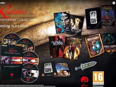 Анонс Revolution: the 25th Anniversary Collection
