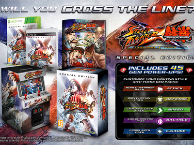 Издание Street fighter X Tekken Special Edition