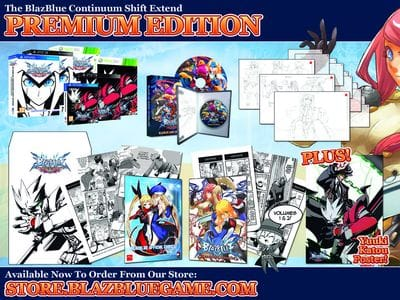 Издание BlazBlue Continuum Shift Extend Premium Edition