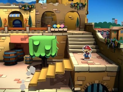 Анонс Paper Mario: Color Splash