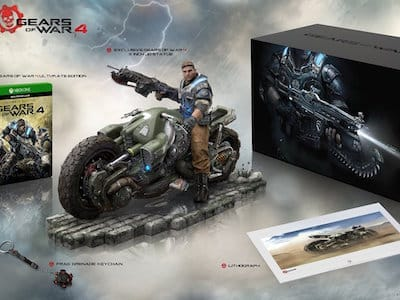 Анонс: Gears of War 4 Collector's Edition