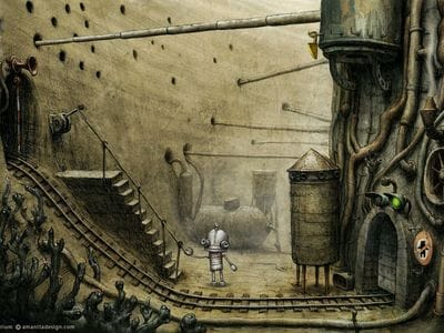 Лучшая версия игры Machinarium