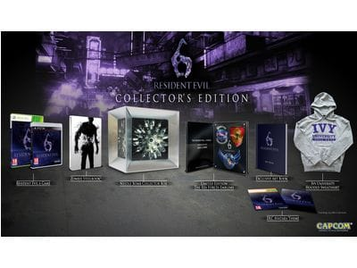 Анонс: Resident Evil 6 Collector's Edition