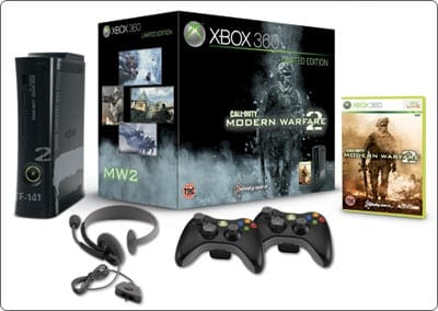 Купи Call of Duty: Black Ops и получи Xbox 360 Limited Edition Elite 250Гб + игра Call of Duty: Modern Warfare 2 (для Xbox 360) + 2ой джойстик