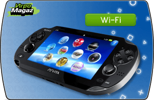 Sony PlayStation PS Vita Wi-Fi (черная)