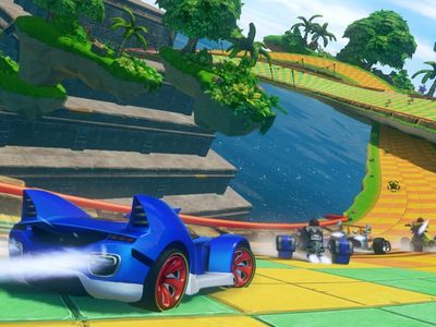 Персонажи в Sonic & All-Stars Racing Transformed