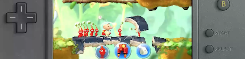 Анонс: Pikmin for Nintendo 3DS