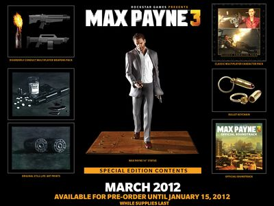 Издание Max Payne 3 Special Edition