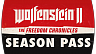 Wolfenstein 2 The Freedom Chronicles Season Pass (ключ для ПК)