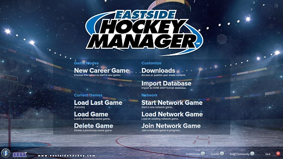 Eastside Hockey Manager (ключ для ПК)