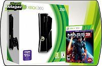 Microsoft Xbox 360 Slim 250 GB + Mass Effect 3