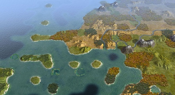 Sid Meier's Civilization V – Scrambled Continents Map Pack