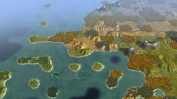 Купить Sid Meier's Civilization V - Scrambled Continents Map Pack