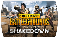 PlayerUnknown's Battlegrounds (PUBG) – Survivor Pass 6 Shakedown (ключ для ПК)