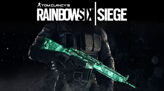 Tom Clancy's Rainbow Six Siege – Emerald Weapon Skin