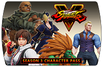 Street Fighter 5 – Season 3 Character Pass