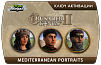 Crusader Kings II – Mediterranean Portraits
