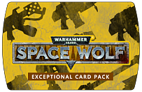 Warhammer 40000 Space Wolf – Exceptional Card Pack (ключ для ПК)