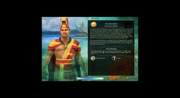 Sid Meier's Civilization V - Civilization and Scenario Pack: Polynesia