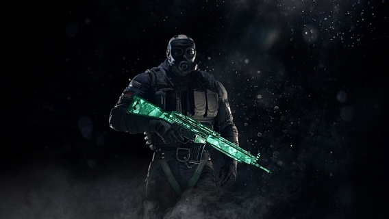 Tom Clancy's Rainbow Six Siege – Emerald Weapon Skin (ключ для ПК)