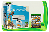 Xbox One 500 GB White + Sunset Overdrive