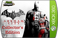 Batman: Arkham City Collector's Edition для Xbox 360