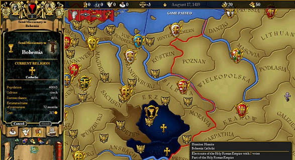For the Glory A Europa Universalis Game