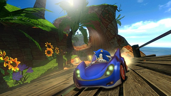Sonic & SEGA All-Stars Racing (ключ для ПК)