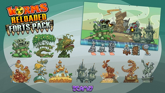 Worms Reloaded – Forts Pack