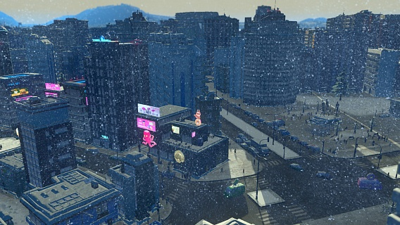 Cities Skylines – Snowfall