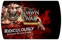 Warhammer 40000 Dawn of War II - Retribution Ridiculously Bloody Blood Pack