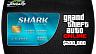 200,000 $ для Grand Theft Auto V (ГТА 5) Online – GTA 5 Tiger Shark Cash Card (ключ для ПК)