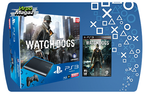 PlayStation 3 500 GB Premium + Watch Dogs