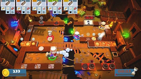 Overcooked 2 – Too Many Cooks (ключ для ПК)