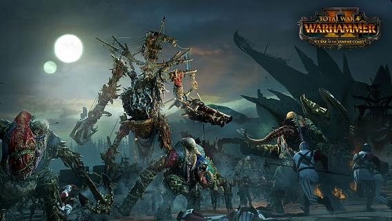 Total War Warhammer 2 – Curse of the Vampire Coast (ключ для ПК)