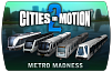Cities in Motion 2 – Metro Madness (ключ для ПК)