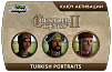 Crusader Kings II – Turkish Portraits