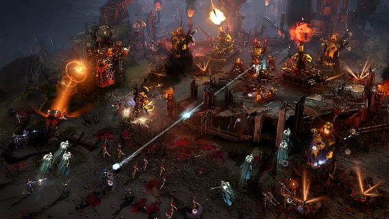 Warhammer 40000 Dawn of War III + Мастера войны