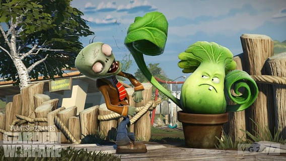 Plants vs Zombies Garden Warfare (ключ для ПК)