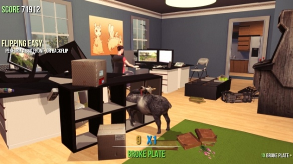 Купить Goat Simulator. Goaty Nightmare Edition