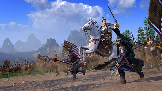 Total War Three Kingdoms (ключ для ПК)